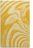 rug #964789 |  yellow abstract rug