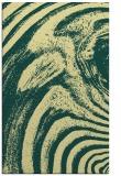 rug #964809 |  blue-green stripes rug