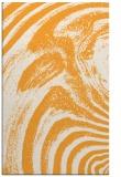 rug #964841 |  light-orange abstract rug