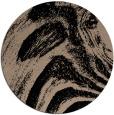 rug #964857 | round beige rug