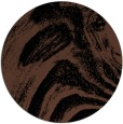 rug #964861 | round brown abstract rug