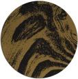 rug #964865 | round mid-brown natural rug
