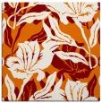 rug #96493 | square orange natural rug