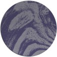 rug #964937 | round blue-violet abstract rug