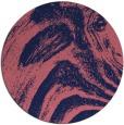 rug #964941 | round pink rug