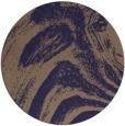 rug #964953 | round beige natural rug