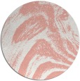 rug #965073 | round white stripes rug