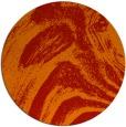 rug #965097   round red stripes rug