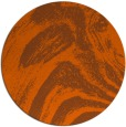 rug #965117 | round abstract rug