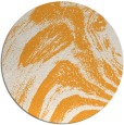rug #965201   round light-orange graphic rug