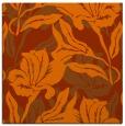 rug #96557 | square red-orange rug
