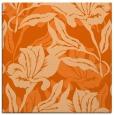 rug #96561 | square red-orange natural rug