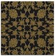 rug #969185 | square black damask rug