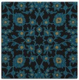 rug #969193 | square mid-brown traditional rug