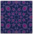 rug #969201 | square blue natural rug