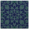 rug #969205 | square blue traditional rug