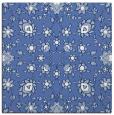 rug #969213 | square blue damask rug