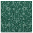 rug #969221 | square blue-green popular rug