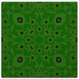 rug #969225 | square green traditional rug