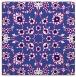 rug #969269 | square blue-violet damask rug