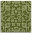 rug #969293 | square green damask rug