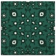 rug #969301 | square blue-green popular rug