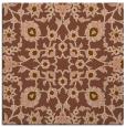 rug #969309 | square brown natural rug