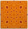 rug #969365 | square orange natural rug