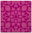 rug #969381 | square pink traditional rug