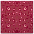 rug #969389 | square pink traditional rug
