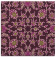 rug #969401 | square purple damask rug