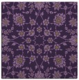 rug #969405 | square purple natural rug