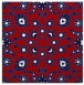 rug #969413 | square red traditional rug
