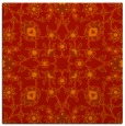 rug #969417 | square red traditional rug