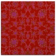 rug #969425   square red traditional rug