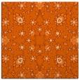 rug #969433   square red-orange damask rug