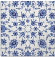 rug #969453 | square blue damask rug