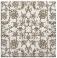 rug #969465 | square beige damask rug