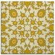 rug #969469   square yellow traditional rug