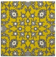rug #969481 | square yellow natural rug