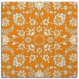 rug #969517 | square light-orange damask rug