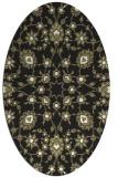 rug #969549 | oval damask rug