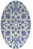 rug #969574 | oval traditional rug