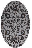 rug #969637 | oval traditional rug