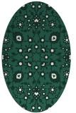 rug #969661 | oval damask rug