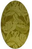 rug #96969 | oval light-green rug