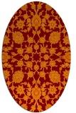 rug #969728 | oval traditional rug