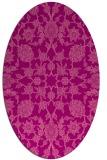 rug #969741   oval pink traditional rug