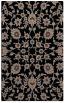 rug #969901 |  brown damask rug