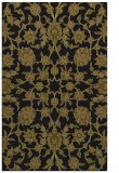 rug #969905 |  mid-brown damask rug